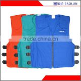 100%cotton flame-retardant gel ice cooling vest