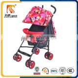 Adjustable canopy baby stroller baby buggy stroller folding baby stroller wheels