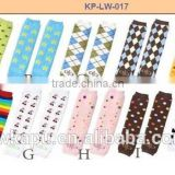 High Quality lovely baby product football baby knit leg warmer wholesale