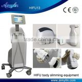LIPOHIFU for skin tighten and fat cell dissolving with non invasive focused untrasound (HIFU) technology beauty