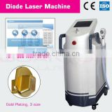 New 808nm Diode laser hair removal (patent design) DIODE LASER MACHINE The System use special laser with long Pulse-Width 808nm
