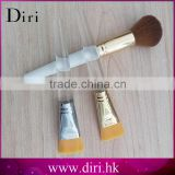 New promotional disposable wholesale crystal makeup brushes