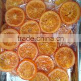 candied orange slice (dried orange slice)