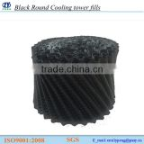 Black Round Cooling tower fills Type with high quality