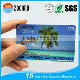 Good performance Prepaid Calling Scratch PVC Card