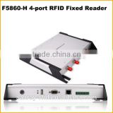 Mid Range 4 Ports UHF RFID Reader with factory price