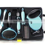 Perfect For Pet Grooming, Durable Stainless Steel, Provided With Dog Leash,Dog Brush,Dog Nail Cutter, Dog Shedding Comb