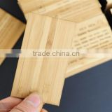 WY-Z248 bamboo business card for promotion /engraved bamboo business card