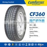 China famous Comforser brand new car tire CF360 with winter Commercial VAN tire