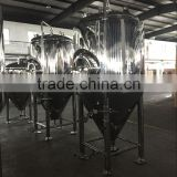 Stainless steel beer fermentation tank brewing line system