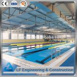 Arched Shape Space Frame Swimming Pool Roof