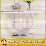 Dining room sets console table with mirror