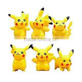 Plastic toys Pikachu Action Figures /Toys Gifts/animal toys