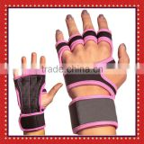 Comfortable Grips For Gymnastics And WOD Cross Training, Hand Protectors With Wrist Brace,Pull Up Crossfit Gloves
