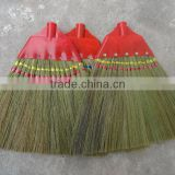 High quality raw material india sweeping grass brooms