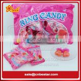 Bag Packing Heart Shape Ring Lollipop Candy