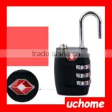 UCHOME Approved 3-Dial Travel Luggage TSA Combination Lock