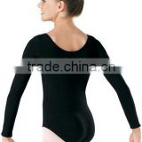 DL7446 Long Sleeve Cotton Leotard Ballet Dancewear