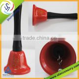 high quality colorful handle bell