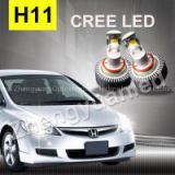Car part cree headlight h11 high power led headlight