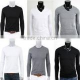 Fashion design t shirt, Mens high quality long sleeve t-shirt- t-shirts/tee shirts/tshirts /gym t shirt/ Printing t shirts