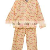 high quality 100 cotton flannel pajamas, cotton pyjamas, printed pyjamas