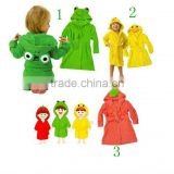 100% cotton breathable frog and duck design baby bath robe/kids bath robes