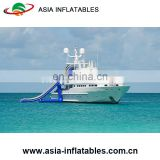 Commercial Grade Floating Water Yacht/ Dock Inflatable Water Slide/ Water Slide for Yacht Dock for sale