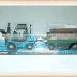 plastic toy logging truck farm utility vehicle