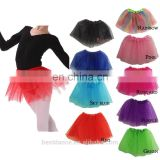 BestDance girls ballet dance tutu belly tutu dress color party kids tutu dancewear skirts