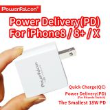 PowerFalcon 18W PD QC Charger (USB Type-C port)