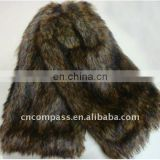 faux fur leg warmer