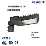 CREE LED Parking Lot Light Fixture, 150W LED, 7 yrs warranty
