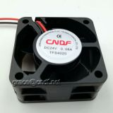CNDF plastic case TF4020HS12  dc brushless fan 40x40x20mm high speed 12VDC with high speed 7000rpm use for machine cooling