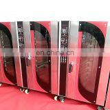 Steamed electric proofer combined hot air convection gas oven with 5 tray Fermenting box baking equipment