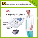 telefon fixed telephone sos emergency telephone for senior sos emergency telephone with watch controller