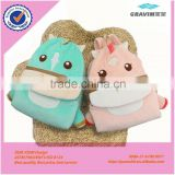 Super soft material baby interesting cartoon donkey bag with kids our door game                                                                         Quality Choice