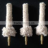 Cotton wire gun cleaning mop twist for wholesale