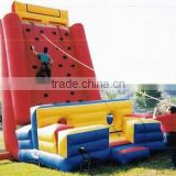 giant inflatable climbing wall