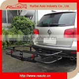 "2015 new 4x4 car accessories folding Hitch mount cargo carrier with bag For 2"" hitch receiver                                                                         Quality Choice"