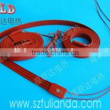 Customize 3.7v 5v 7.4v 9v 12v 24v 36v 48v 60v silicone heater strip element with CE RoHS certification