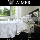 trade assurance 100% cotton / 40X40/ 100X80 white fabric fo king size r fitted sheet width 280cm soft hand feeling