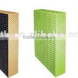 7090 plant fiber cooling pad / cooling media of 150mm used for industrial humidifier, poultry and greenhouse pad wall