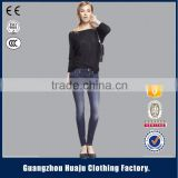 New fashionable moroccan design jeans kaftan for lady