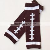 New baby football leg warmers orange and black leg warmers infant socks leggings LW-26