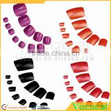 48 PCS ABS Nail Design Artificial Fingernails False Toenail Toe Nail Art Tips