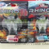 new 3D effect blister paper card rhino 7/rhino pills/powerful sex capsule/male enhancement pills/sex pills for long time sex