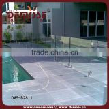 temporary swimming pool glass balustrading design and bracket
