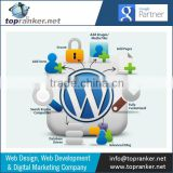 Wordpress Website Designing and Development from Indian Company