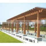 Outdoor WPC Pergola With FSC ,CE ,SGS